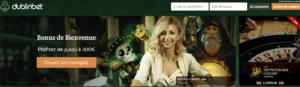 casino en ligne Dublin Bet page d'accueil