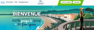 Azur Casino lobby