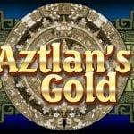 logo machien à sous aztlan's Gold