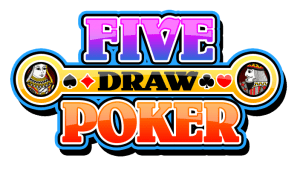 Five draw video poker logo