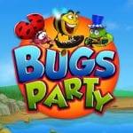 Bug party logo