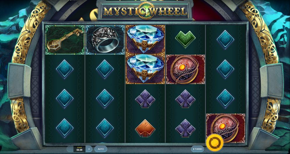 Machine a sous Mystic Wheel