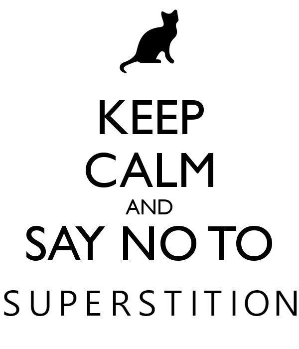 superstition illustration