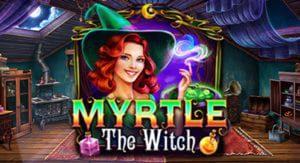 logo de la machine à sous myrthe the witch