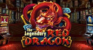 logo de ma machine a sous the legendary red dragon