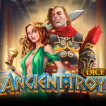 Ancient troy dice logo