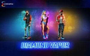 logo de diamond vapor