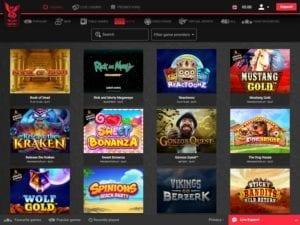 gamme de jeu casino en ligne royal rabbit