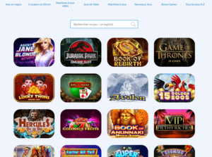 gamme de jeu casino en ligne Jelly Bean