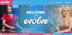 Casino en ligne Evolve Casino