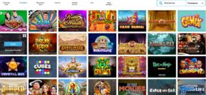 gamme de jeu casino en ligne Evolve Casino