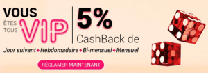 All Cashback accueil