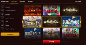 gamme de jeu domgame casino
