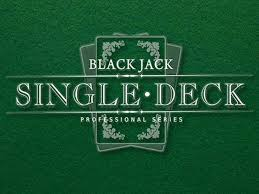 Blackjack Single Deck netent