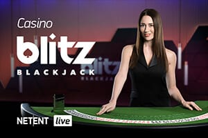Branded Casino Blitz Blackjack netent