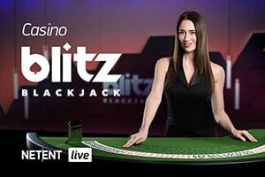 Branded Casino Blitz Blackjack netent