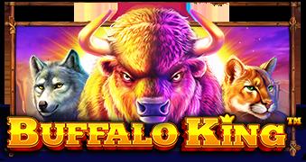 buffalo king logo machine à sous