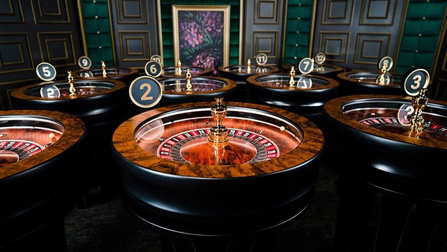 Instant Roulette Evolution Gaming