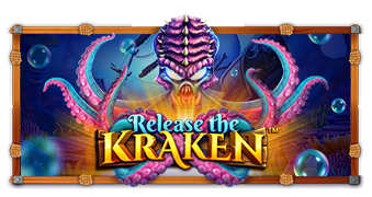 release the kraken machine à sous logo