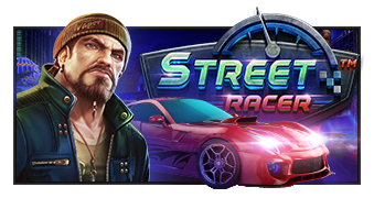 street racer machine à sous logo