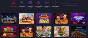 Casino disco jeux
