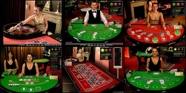 blackjack croupier