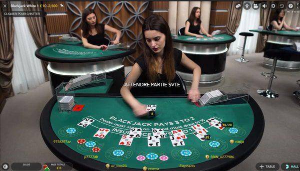 meilleurs casinos pour jouer blackjack