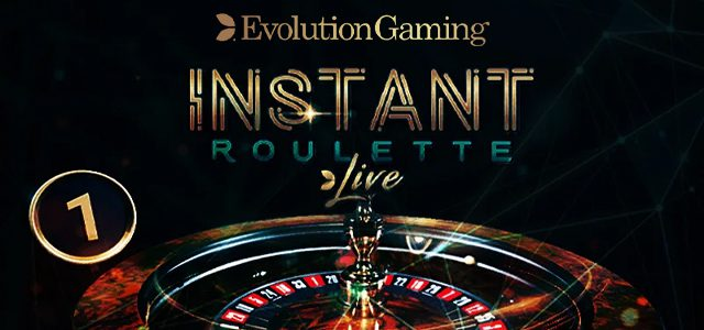 instant roulette de evolution gaming