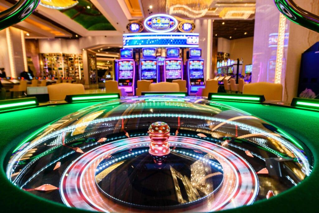 roulette dans un casino