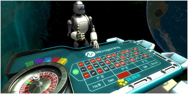 VR Roulette de Microgaming