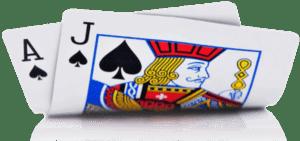 carte de blackjack