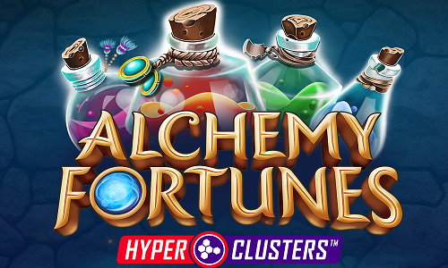 microgaming SAlchemy Fortunes : Hyperclusters