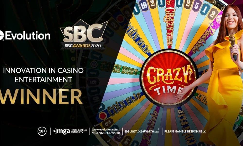 crazy time sbc awards 2020
