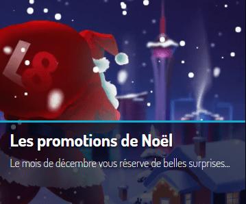 lucky 8 promotions de noel