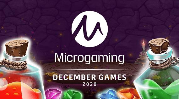 microgaming december games