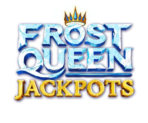 logo machine à sous frozen queen Jackpots signée Yggrasil