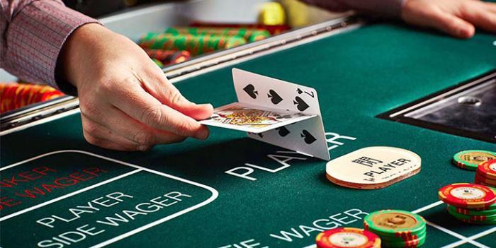 baccara carte jeu de casino