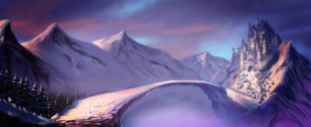 background machine à sous frozen queen jackpots