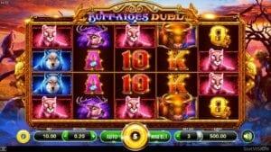 interface machine à sous buffalo duel de slotvision