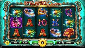 steampunk queen machine à sous slotvision interface
