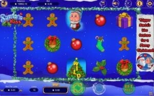 booming games Santa's Kiss slot