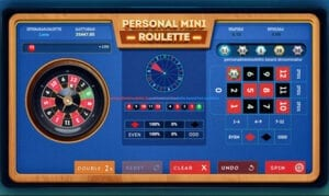 Personal Mini Roulette SmartSoft Gaming