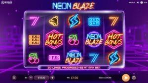 Revolver Gaming Neon Blaze slot