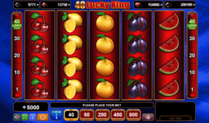 40 Lucky King Slot EGT Interactive
