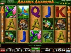 Machine à sous Amazing Amazonia EGT Interactive