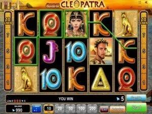 Machine à sous Grace of Cleaopatra