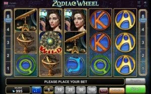 Machine à sous Zodiac Wheel EGT Interactive
