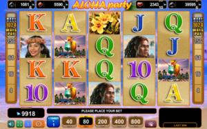 Machine à sous Aloha Party EGT Interactive
