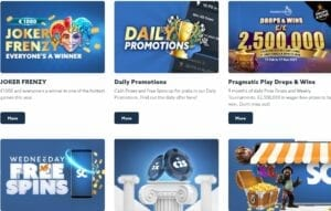 Casino Scatters promotions