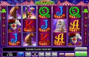 circus brillant EGT Interactive Slot